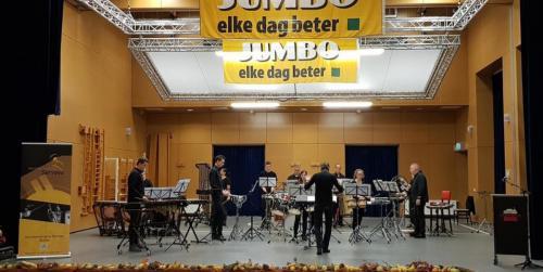 20181103 Slagwerkgroep Servaes bij Jumbo Muziekfestival 4