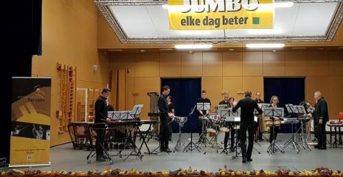 20181103 Slagwerkgroep Servaes bij Jumbo Muziekfestival 7
