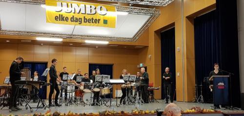20181103 Slagwerkgroep Servaes bij Jumbo Muziekfestival 1